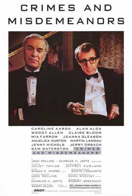 Crimes & Misdemeanors - 27 x 40 Movie Poster - Style A