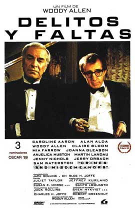 Crimes & Misdemeanors - 11 x 17 Movie Poster - Spanish Style A