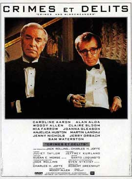 Crimes & Misdemeanors - 11 x 17 Movie Poster - French Style A