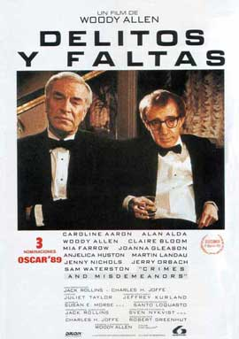 Crimes & Misdemeanors - 27 x 40 Movie Poster - Spanish Style A