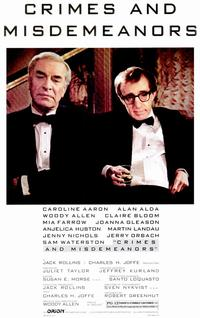 Crimes & Misdemeanors - 11 x 17 Movie Poster - Style A - Museum Wrapped Canvas