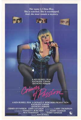Crimes of Passion - 11 x 17 Movie Poster - Style A