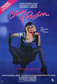 Crimes of Passion - 27 x 40 Movie Poster - Style A