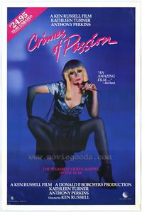 Crimes of Passion - 43 x 62 Movie Poster - Bus Shelter Style A
