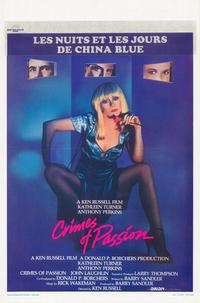 Crimes of Passion - 11 x 17 Movie Poster - Belgian Style A