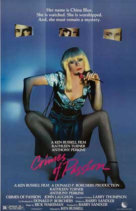 Crimes of Passion - 27 x 40 Movie Poster - Style B