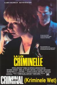 Criminal Law - 11 x 17 Movie Poster - Belgian Style A