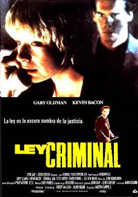 Criminal Law - 11 x 17 Movie Poster - Spanish Style A