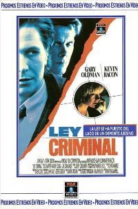 Criminal Law - 11 x 17 Movie Poster - Spanish Style B