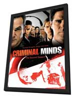 Criminal Minds - 11 x 17 Movie Poster - Style A - in Deluxe Wood Frame