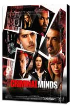 Criminal Minds - 27 x 40 TV Poster - Style B - Museum Wrapped Canvas