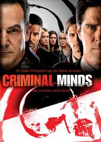 Criminal Minds - 27 x 40 Movie Poster - German Style A