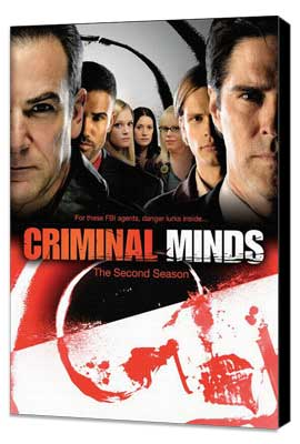 Criminal Minds - 11 x 17 Movie Poster - Style A - Museum Wrapped Canvas