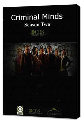 Criminal Minds - 11 x 17 TV Poster - Style C - Museum Wrapped Canvas