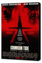 Crimson Tide - 27 x 40 Movie Poster - Style A - Museum Wrapped Canvas