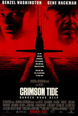 Crimson Tide - 11 x 17 Movie Poster - Style A