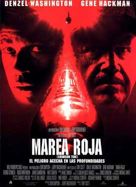 Crimson Tide - 11 x 17 Movie Poster - Spanish Style A