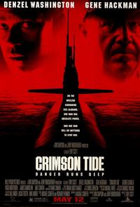 Crimson Tide - 11 x 17 Movie Poster - Style A - Museum Wrapped Canvas