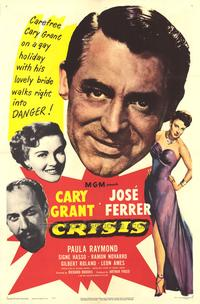 Crisis - 43 x 62 Movie Poster - Bus Shelter Style A