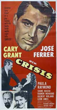 Crisis - 20 x 40 Movie Poster - Style A