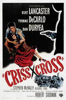 Criss Cross - 11 x 17 Movie Poster - Style A