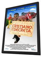 Cristiano de la Secreta - 11 x 17 Movie Poster - Mexican Style A - in Deluxe Wood Frame