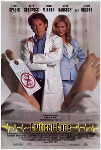 Critical Care - 27 x 40 Movie Poster - Style A