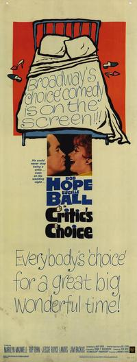 Critics Choice - 14 x 36 Movie Poster - Insert Style A