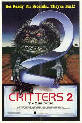 Critters 2: The Main Course - 27 x 40 Movie Poster - Style A