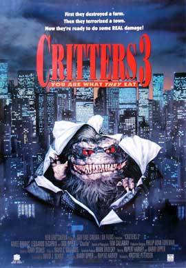 Critters 3 - 11 x 17 Movie Poster - Style B
