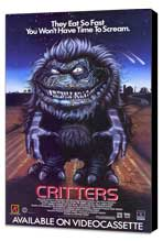Critters - 11 x 17 Movie Poster - Style C - Museum Wrapped Canvas