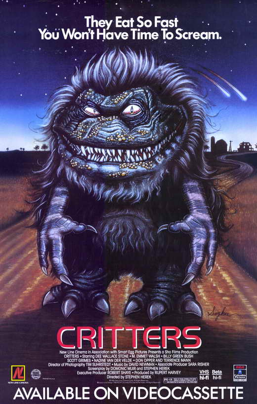 critters movie posters from movie poster shop