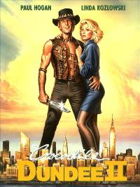 Crocodile Dundee 2 - 11 x 17 Movie Poster - German Style A