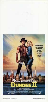 Crocodile Dundee 2 - 13 x 28 Movie Poster - Italian Style A