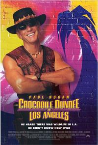 Crocodile Dundee in Los Angeles - 27 x 40 Movie Poster - Style A