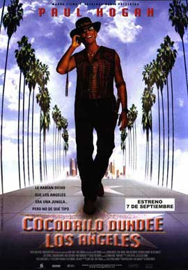 Crocodile Dundee in Los Angeles - 11 x 17 Movie Poster - Spanish Style A