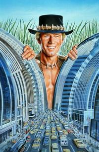 Crocodile Dundee - 8 x 10 Color Photo #1