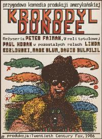 Crocodile Dundee - 27 x 40 Movie Poster - Polish Style A