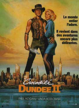 Crocodile Dundee - 11 x 17 Movie Poster - French Style A