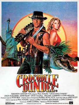 Crocodile Dundee - 11 x 17 Movie Poster - French Style B