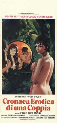 cronaca erotica di una coppia - 13 x 28 Movie Poster - Italian Style A
