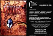 Cronos - 11 x 17 Movie Poster - Spanish Style B