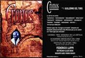 Cronos - 11 x 17 Movie Poster - Spanish Style B