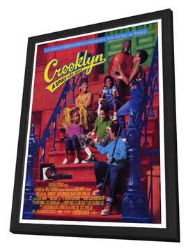 Crooklyn - 27 x 40 Movie Poster - Style A - in Deluxe Wood Frame