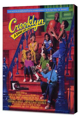 Crooklyn - 11 x 17 Movie Poster - Style A - Museum Wrapped Canvas