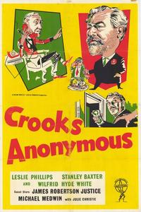 Crooks Anonymous - 27 x 40 Movie Poster - Style A