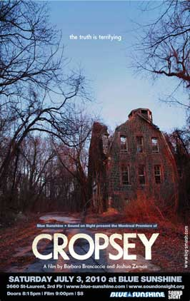 Cropsey - 43 x 62 Movie Poster - Bus Shelter Style A