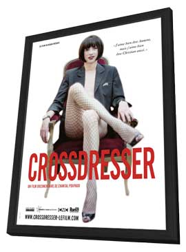 Crossdresser - 11 x 17 Movie Poster - French Style A - in Deluxe Wood Frame