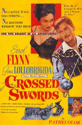 Crossed Swords - 11 x 17 Movie Poster - Style B