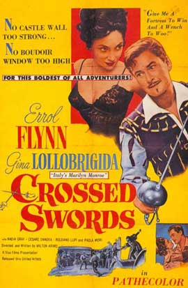 Crossed Swords - 27 x 40 Movie Poster - Style B